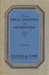 Modern Visual Training with Ortho-Fusor-thumb