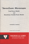 StereoZoom Microscopes Reference Manual-thumb