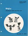 Balplan Microscope Distributor Policy and Price List